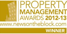 Property Management Awards 2012-13